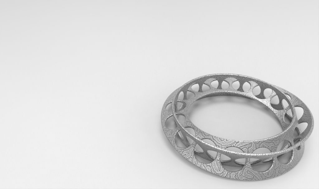 Moebius Ring.10180